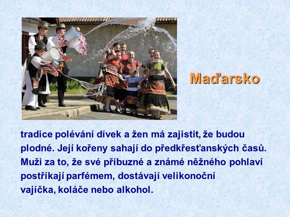 Maďarsko tradice polévání dívek a žen má zajistit, že budou
