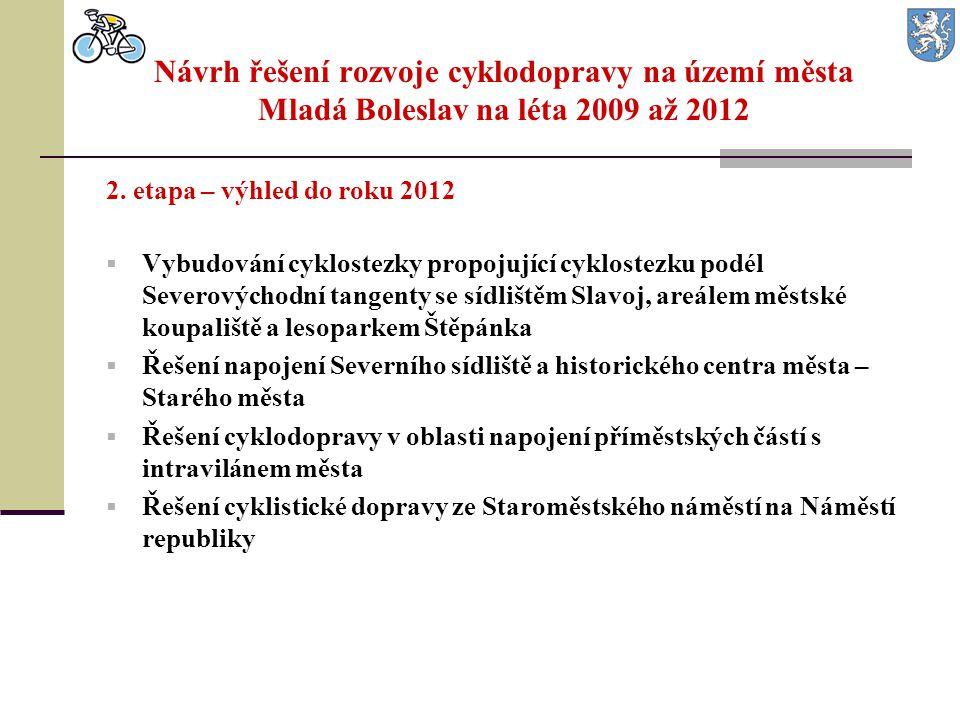Návrh řešení rozvoje cyklodopravy na území města Mladá Boleslav na léta 2009 až 2012