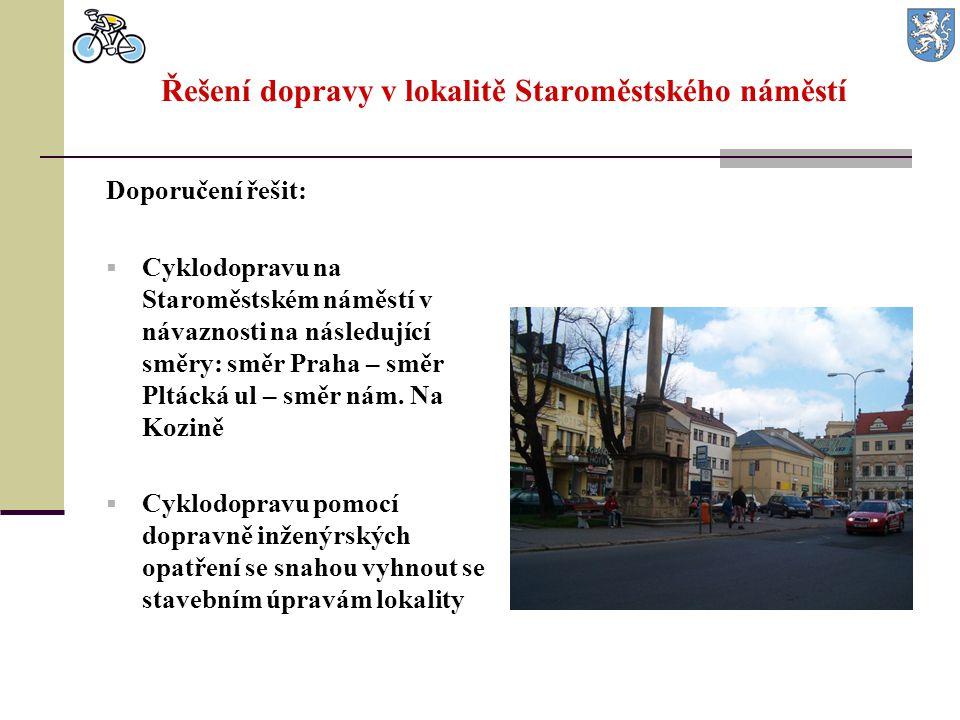 Řešení dopravy v lokalitě Staroměstského náměstí