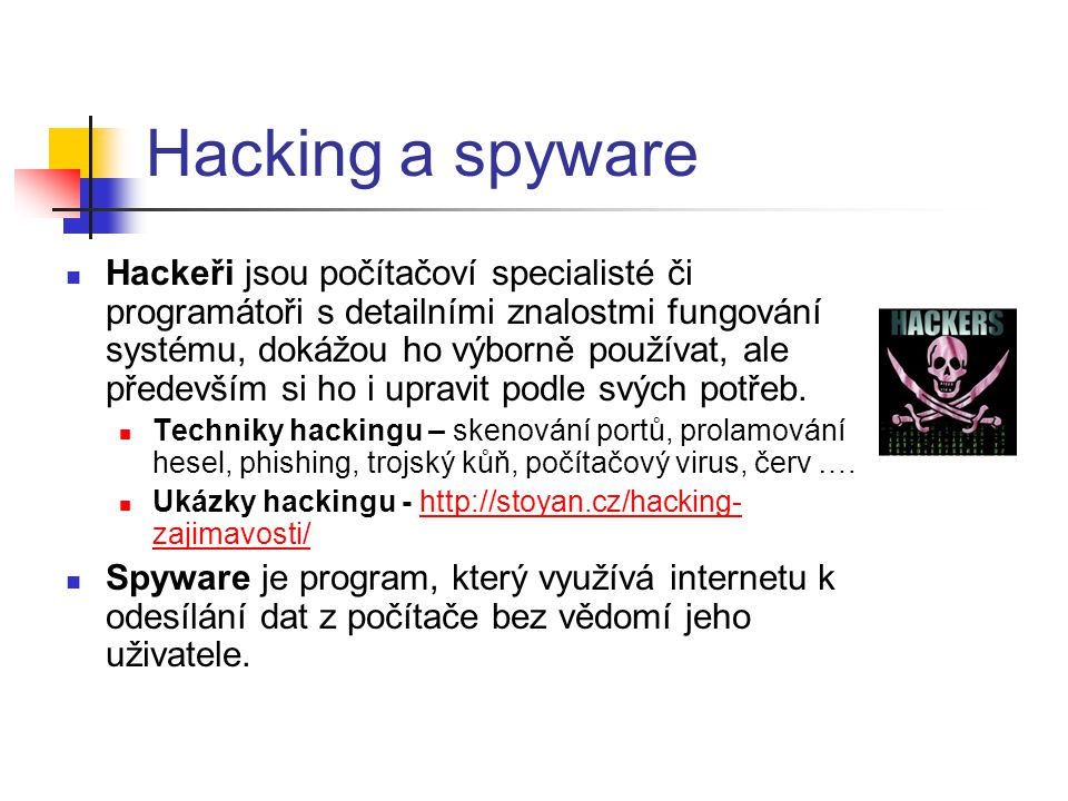 Hacking a spyware