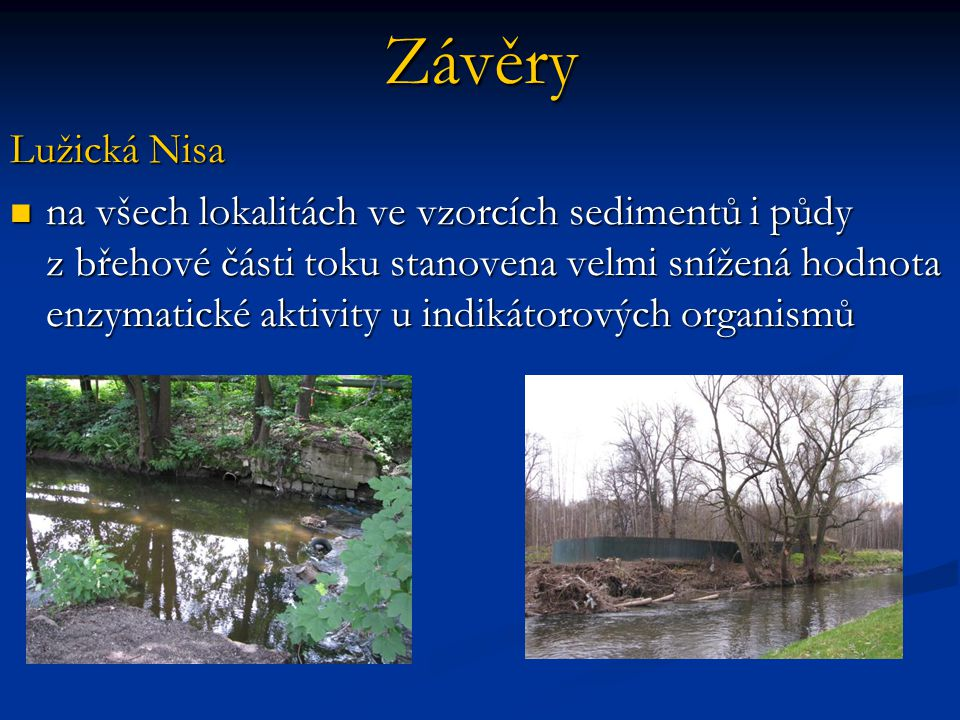 Závěry Lužická Nisa.