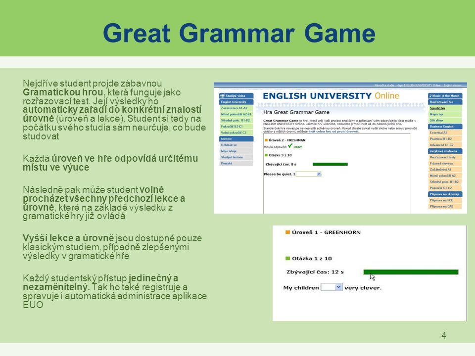 Great Grammar Game