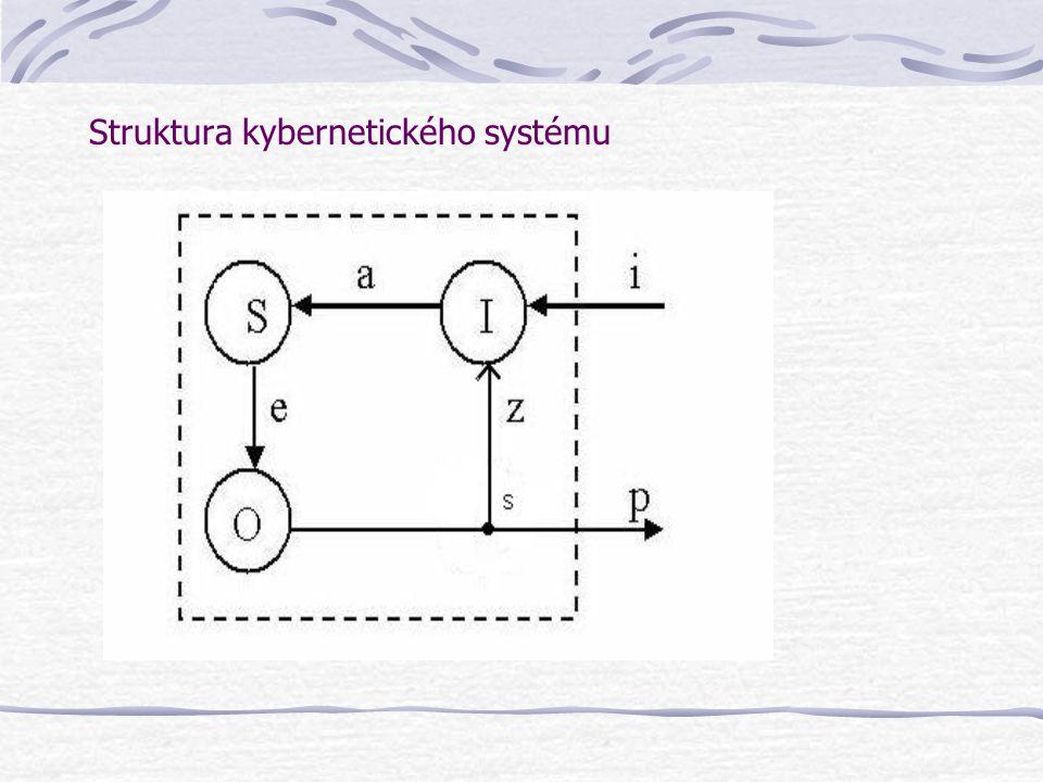 Struktura kybernetického systému