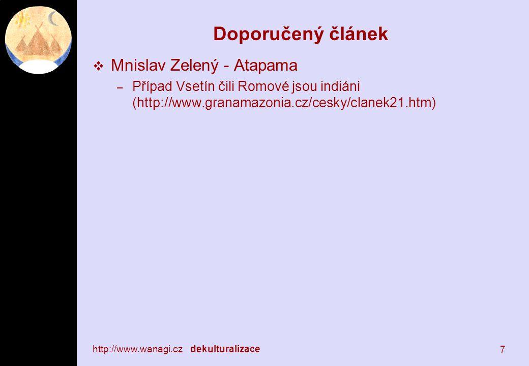 Doporučený článek Mnislav Zelený - Atapama