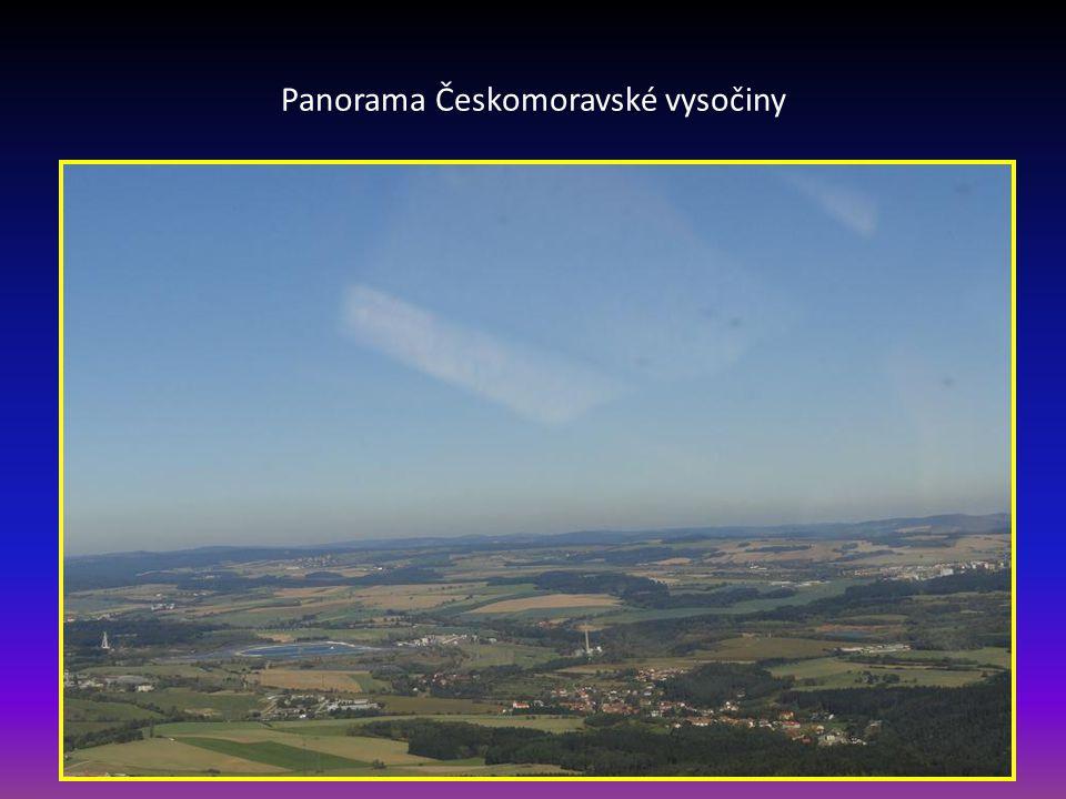 Panorama Českomoravské vysočiny