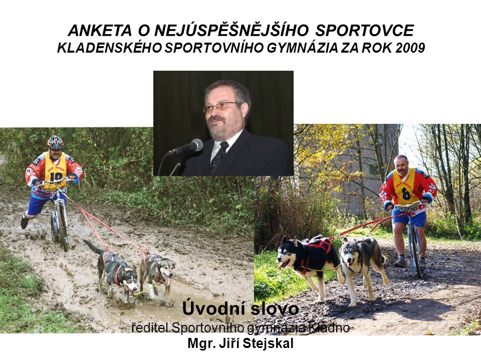 ředitel Sportovního gymnázia Kladno