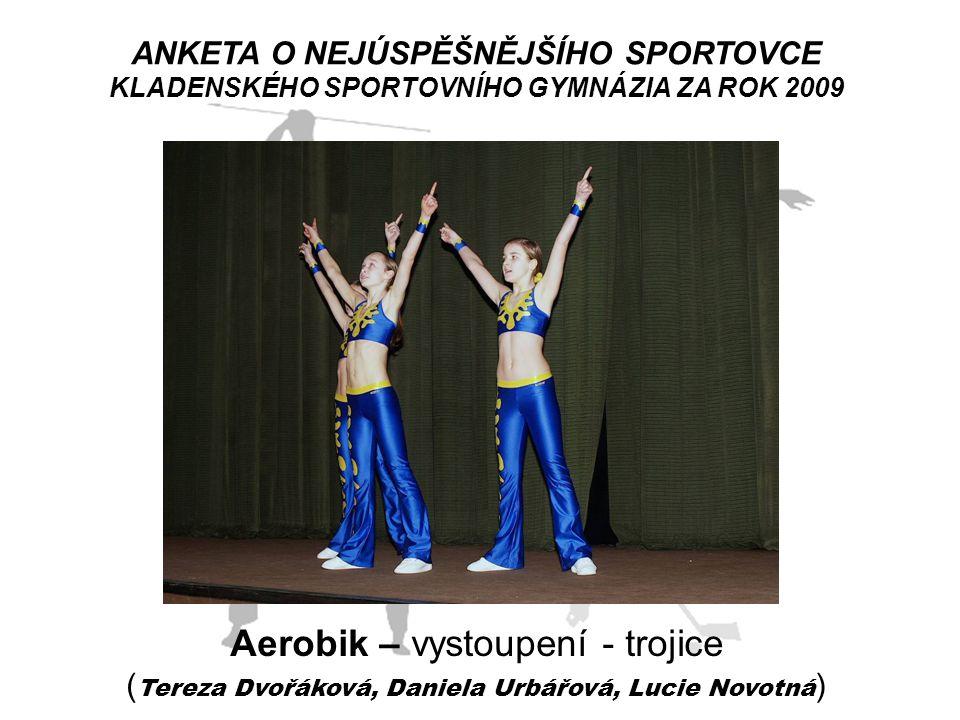 Aerobik – vystoupení - trojice