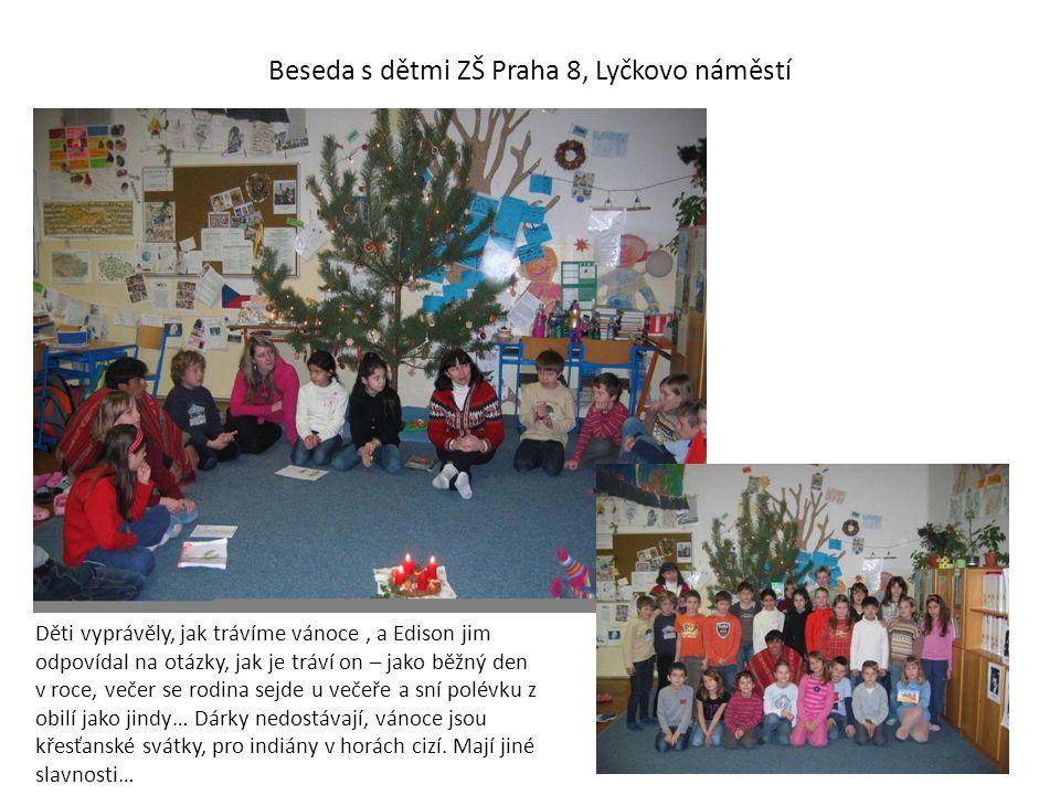 Beseda s dětmi ZŠ Praha 8, Lyčkovo náměstí
