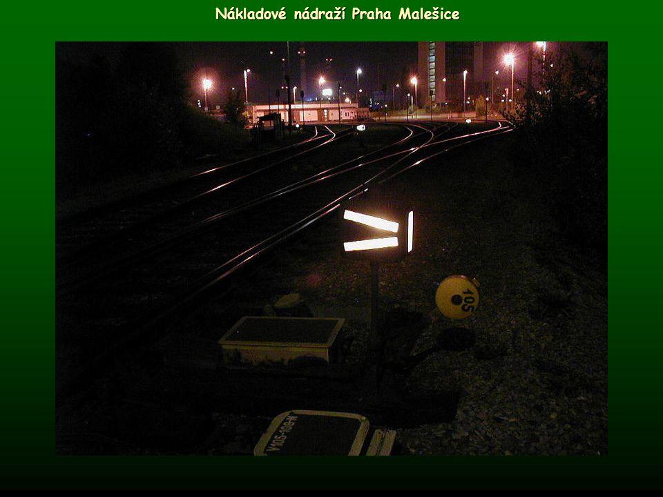 Nákladové nádraží Praha Malešice