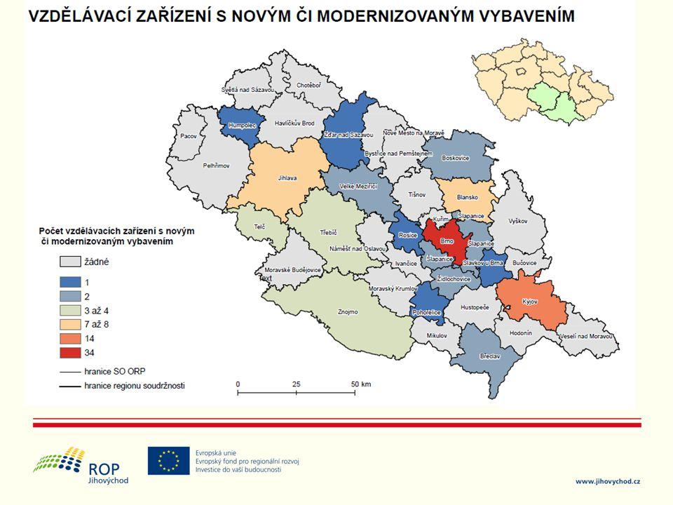 Školy na Kyjovsku a Blanensku.