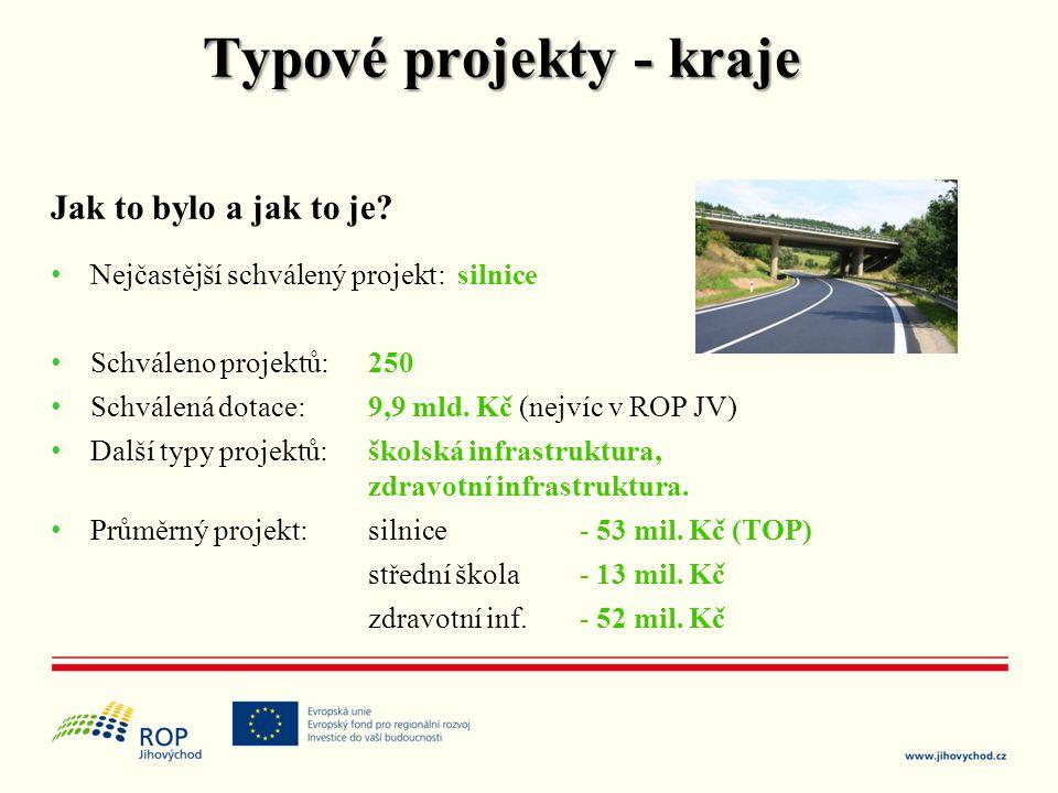 Typové projekty - kraje