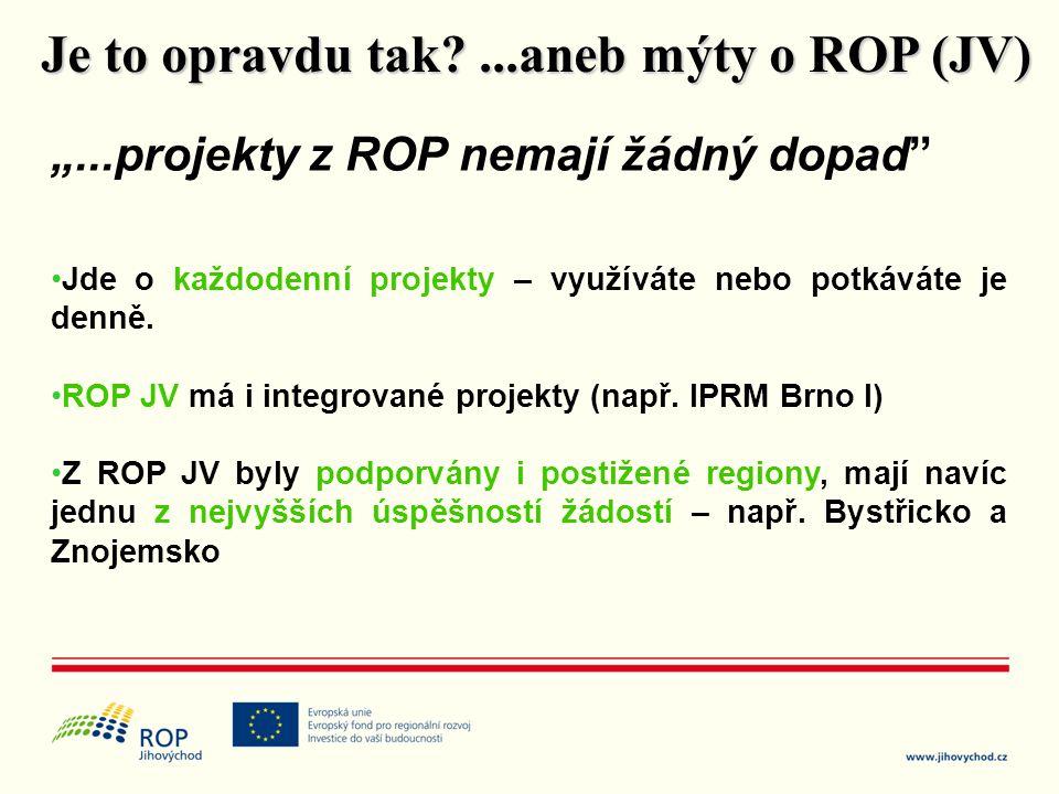 Je to opravdu tak ...aneb mýty o ROP (JV)