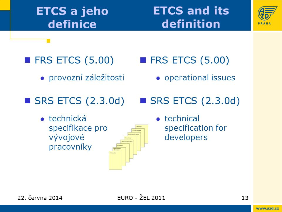 ETCS and its definition