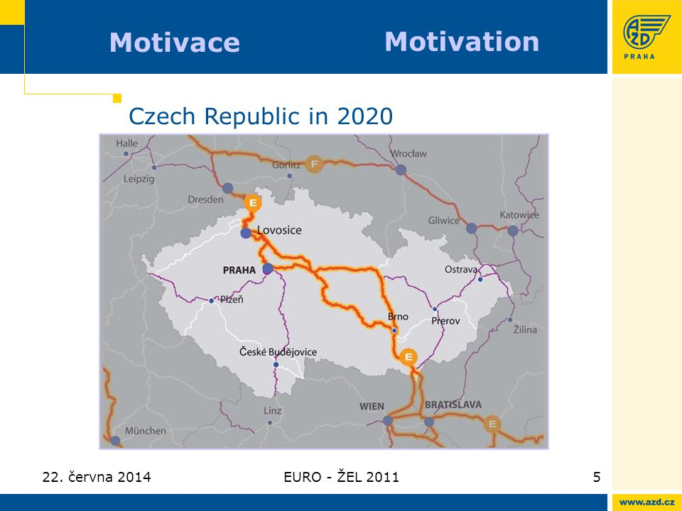 Motivace Motivation Czech Republic in 2020 3. dubna 2017