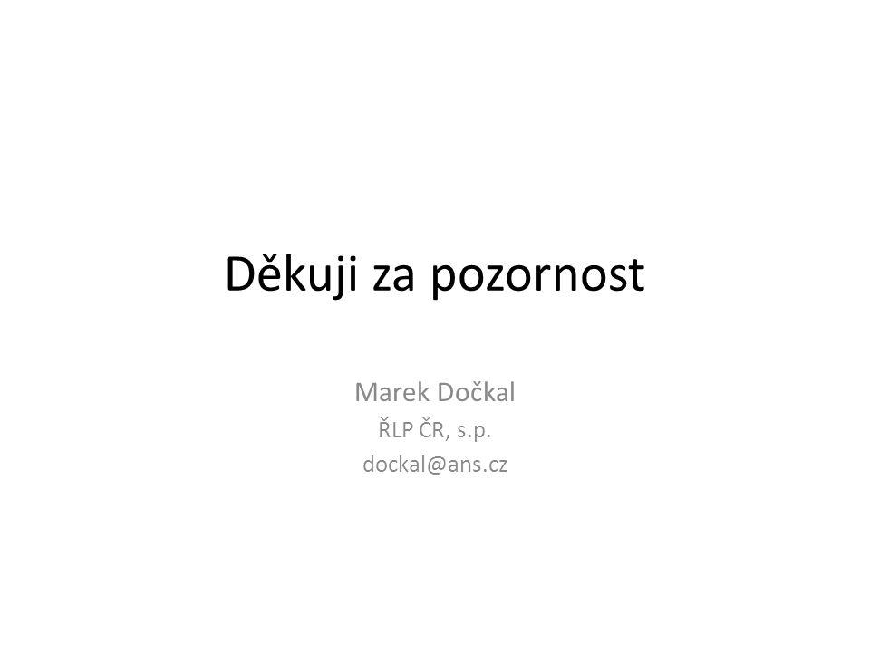 Marek Dočkal ŘLP ČR, s.p. dockal@ans.cz
