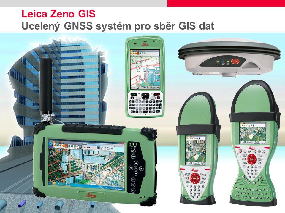 Leica Zeno GIS Ucelený GNSS systém pro sběr GIS dat