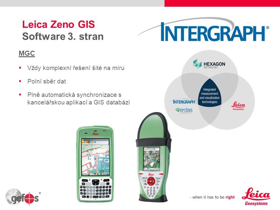 Leica Zeno GIS Software 3. stran