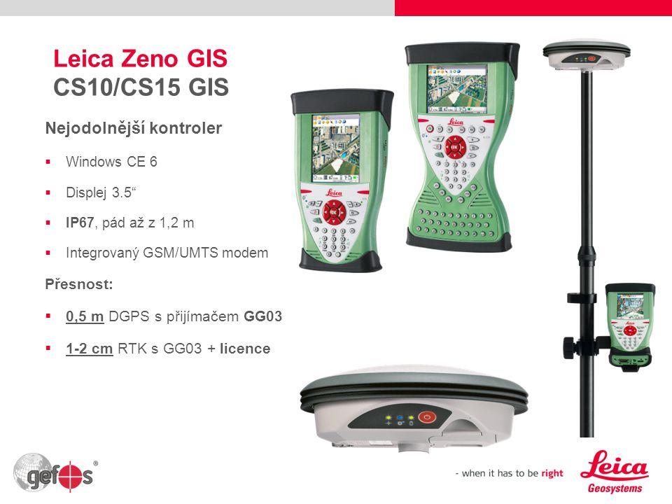 Leica Zeno GIS CS10/CS15 GIS