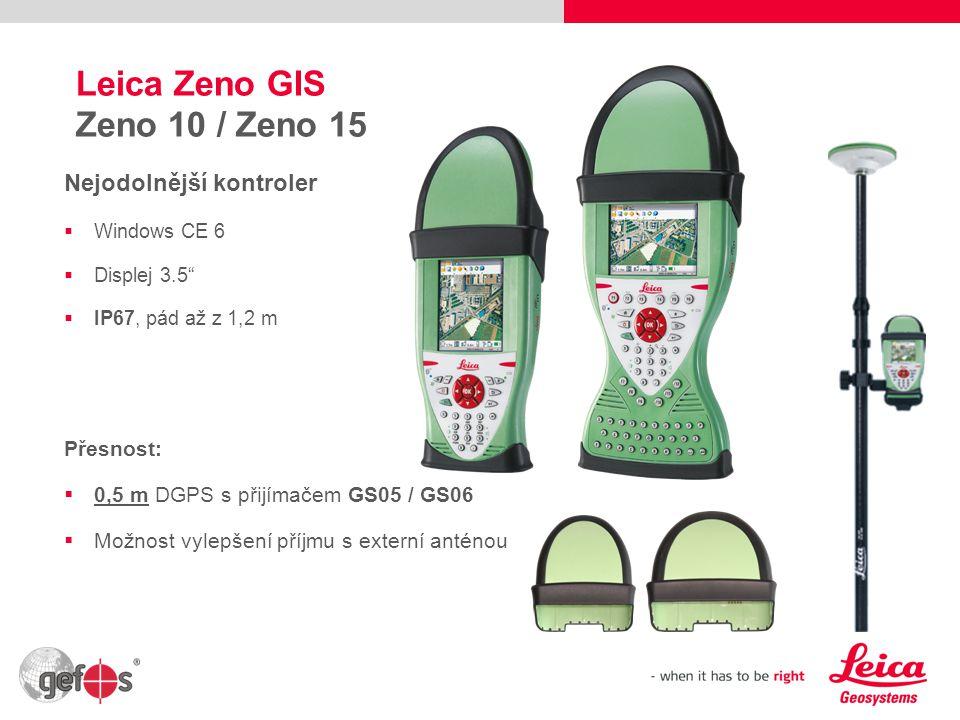Leica Zeno GIS Zeno 10 / Zeno 15