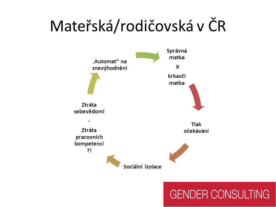 Mateřská/rodičovská v ČR