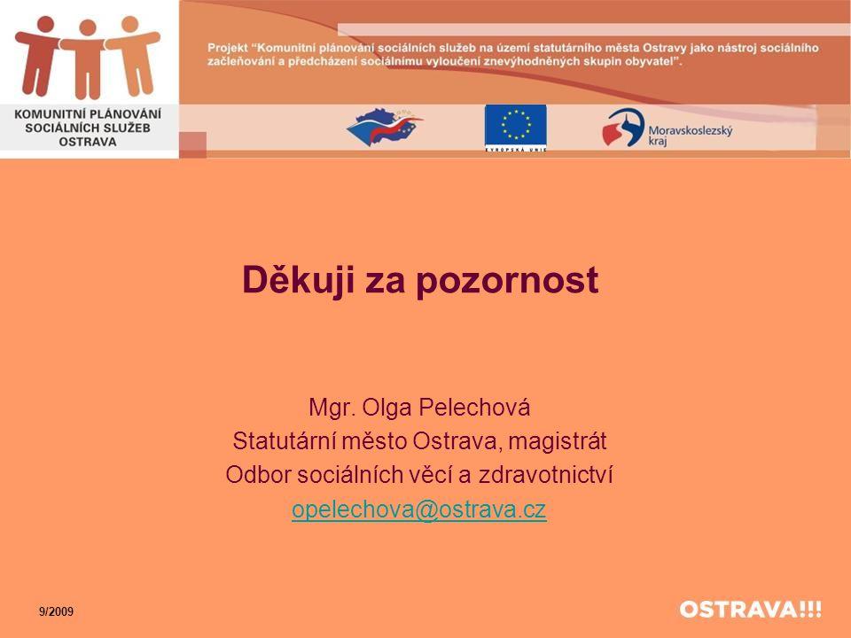 Děkuji za pozornost Mgr. Olga Pelechová