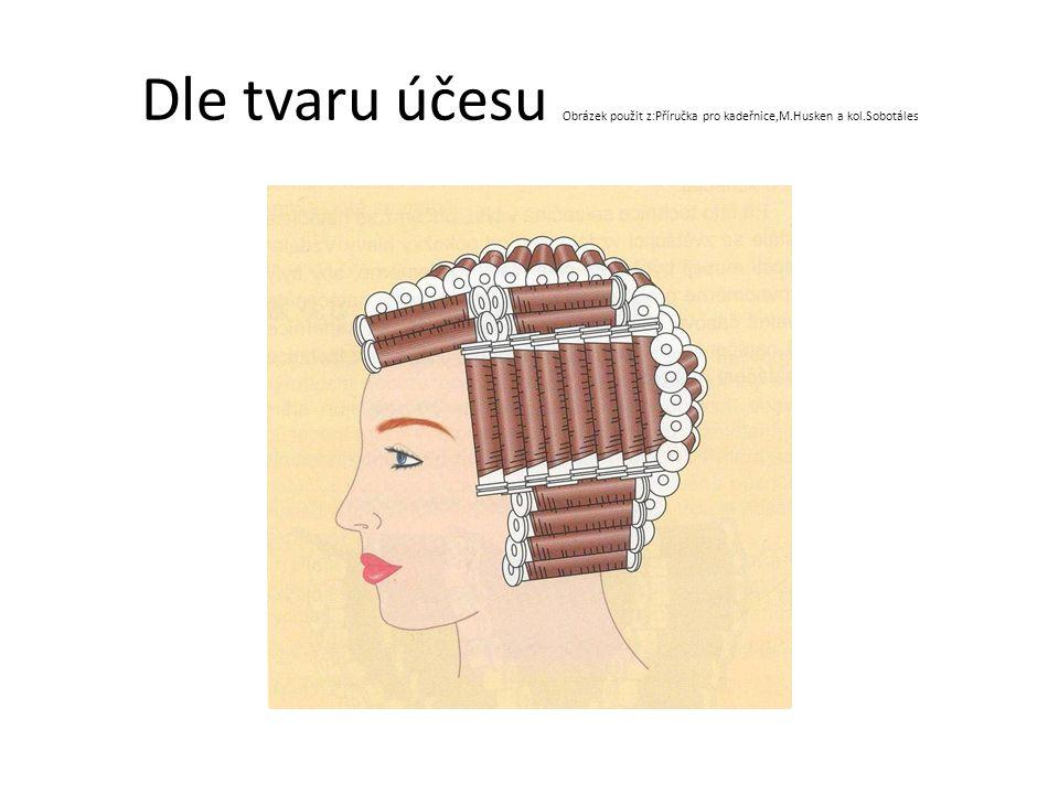 Dle tvaru účesu Obrázek použit z:Příručka pro kadeřnice,M.Husken a kol.Sobotáles
