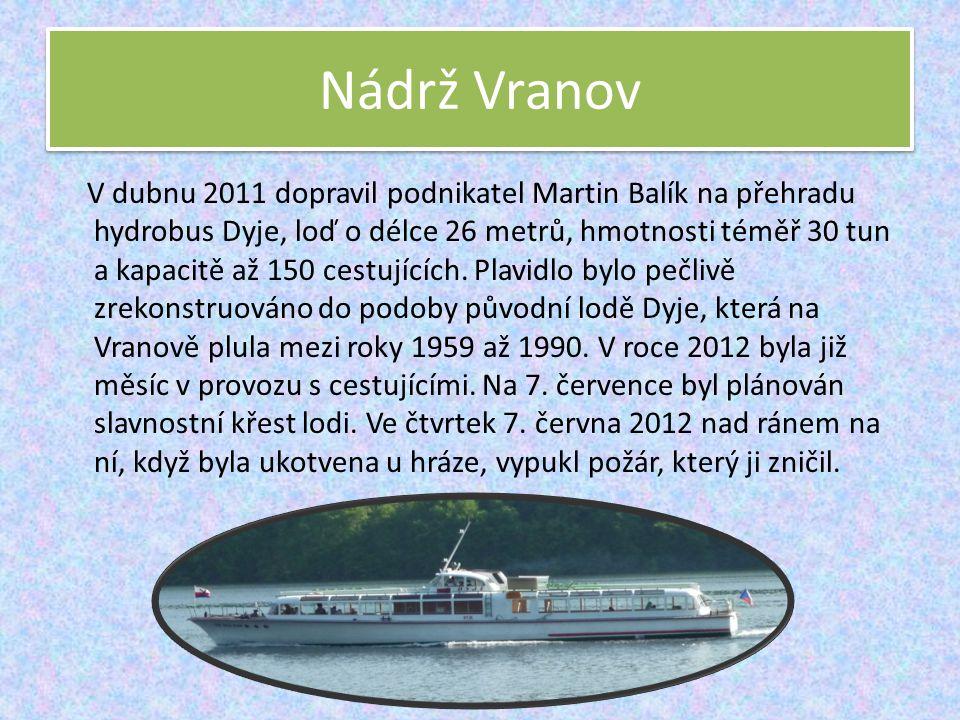 Nádrž Vranov