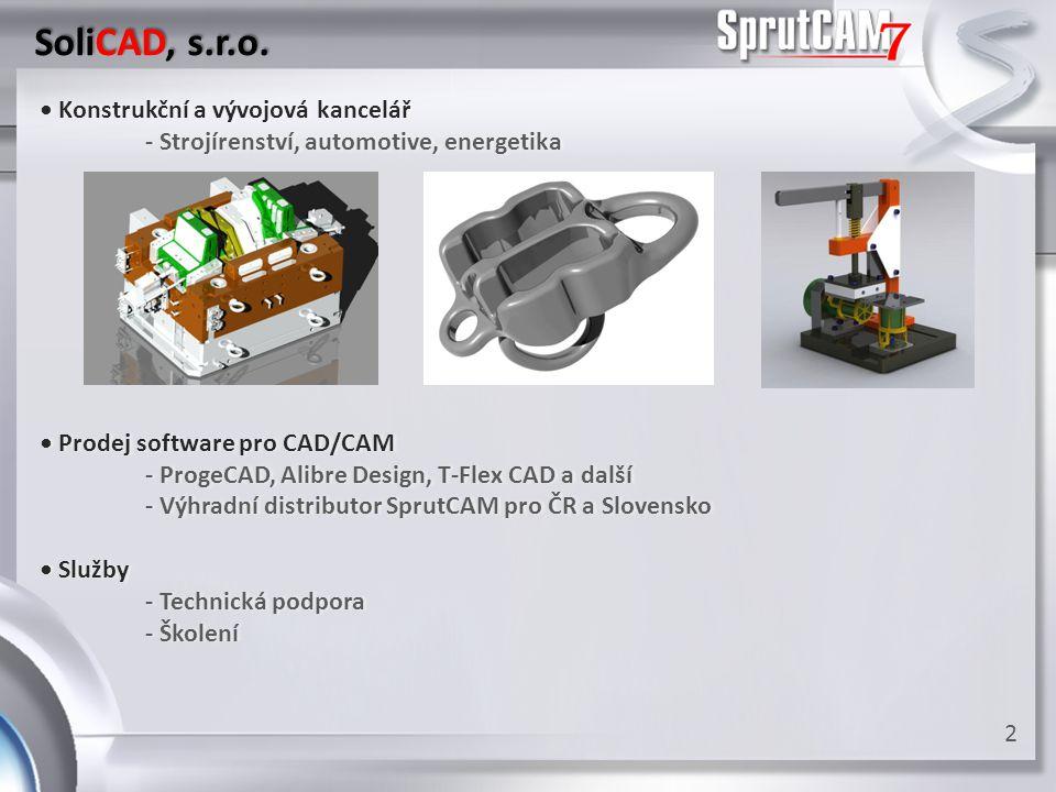 SoliCAD, s.r.o. • Konstrukční a vývojová kancelář