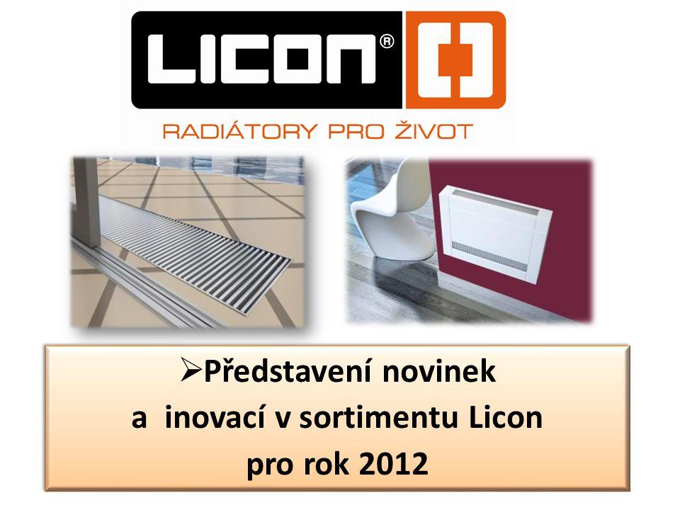 a inovací v sortimentu Licon