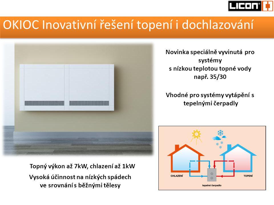 OKIOC Inovativní řešení topení i dochlazování