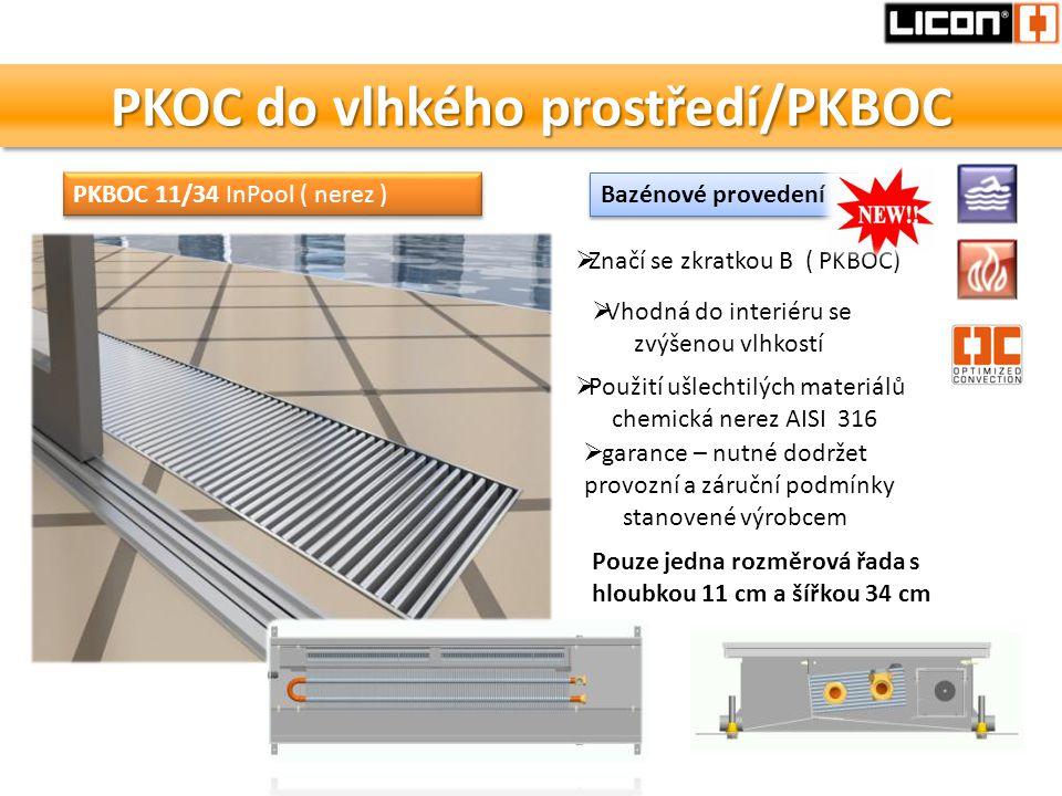 PKOC do vlhkého prostředí/PKBOC