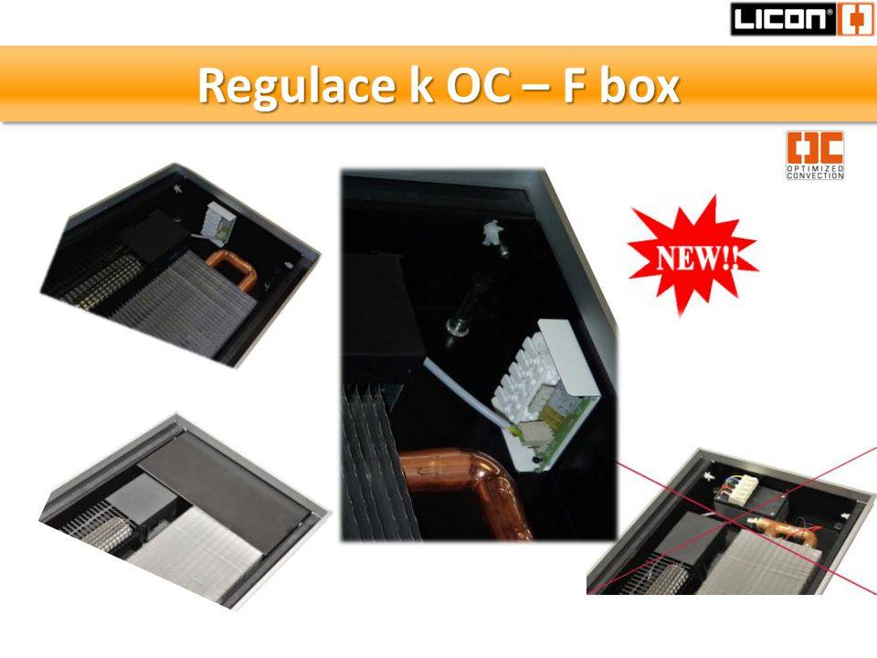 Regulace k OC – F box
