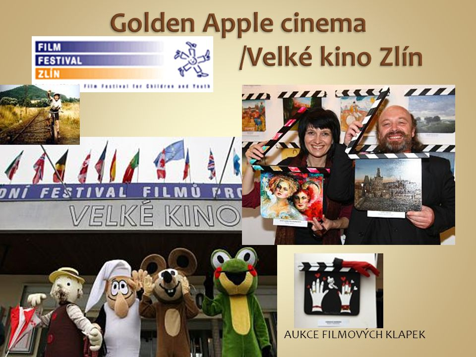 Golden Apple cinema /Velké kino Zlín