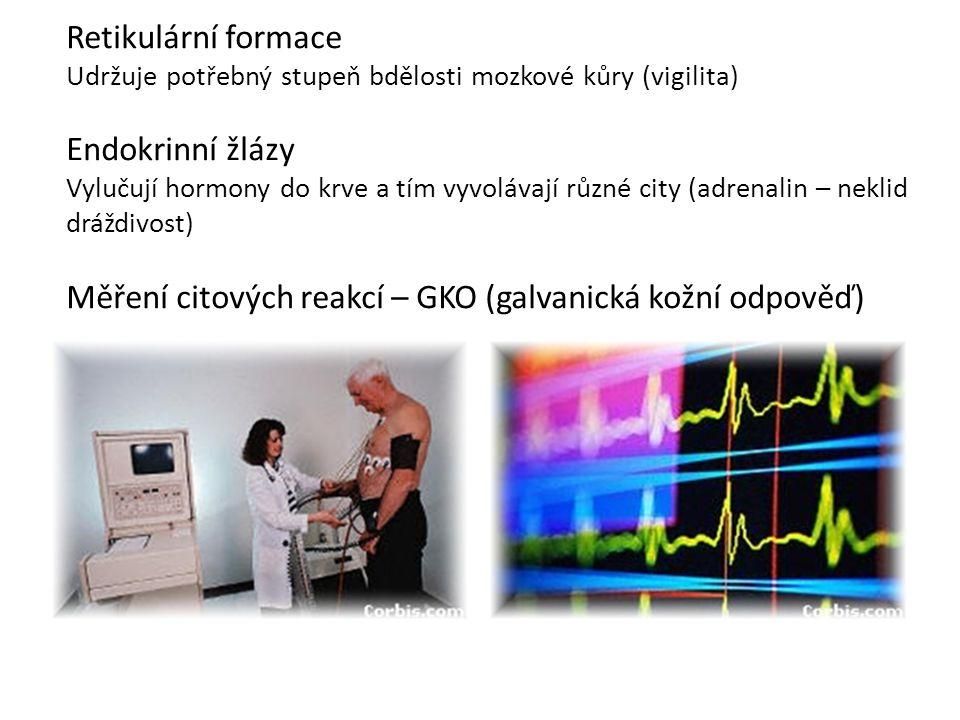 Měření citových reakcí – GKO (galvanická kožní odpověď)