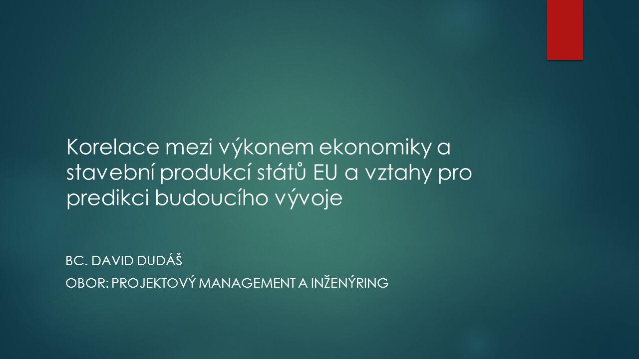 BC. David Dudáš Obor: Projektový management a inženýring