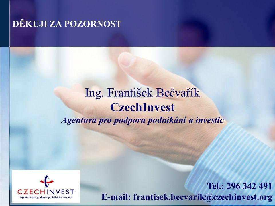 Ing. František Bečvařík CzechInvest