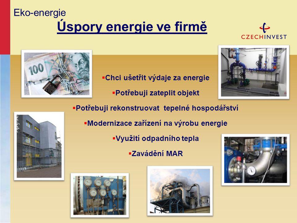 Eko-energie Úspory energie ve firmě