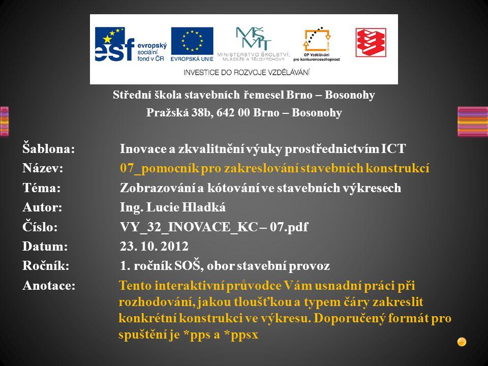 Šablona: Inovace a zkvalitnění výuky prostřednictvím ICT