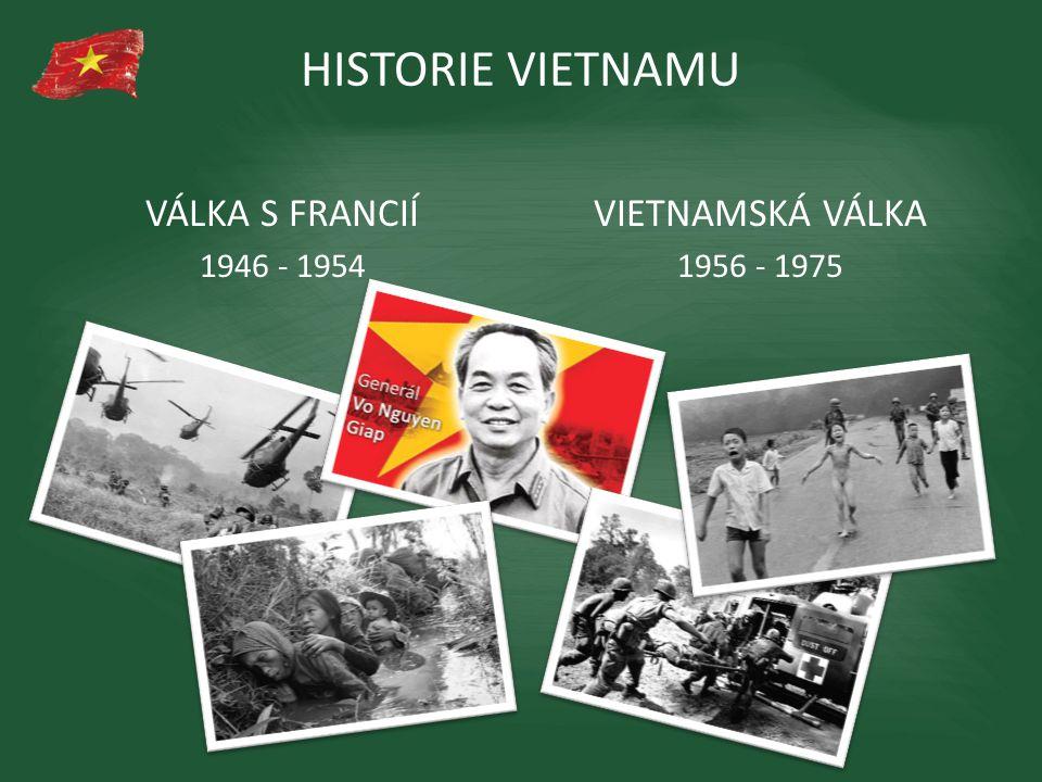 HISTORIE VIETNAMU VÁLKA S FRANCIÍ VIETNAMSKÁ VÁLKA 1946 - 1954
