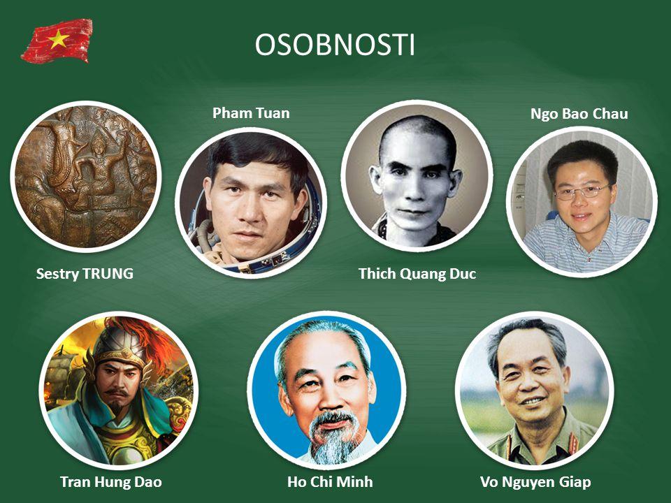 OSOBNOSTI Pham Tuan Ngo Bao Chau Sestry TRUNG Thich Quang Duc