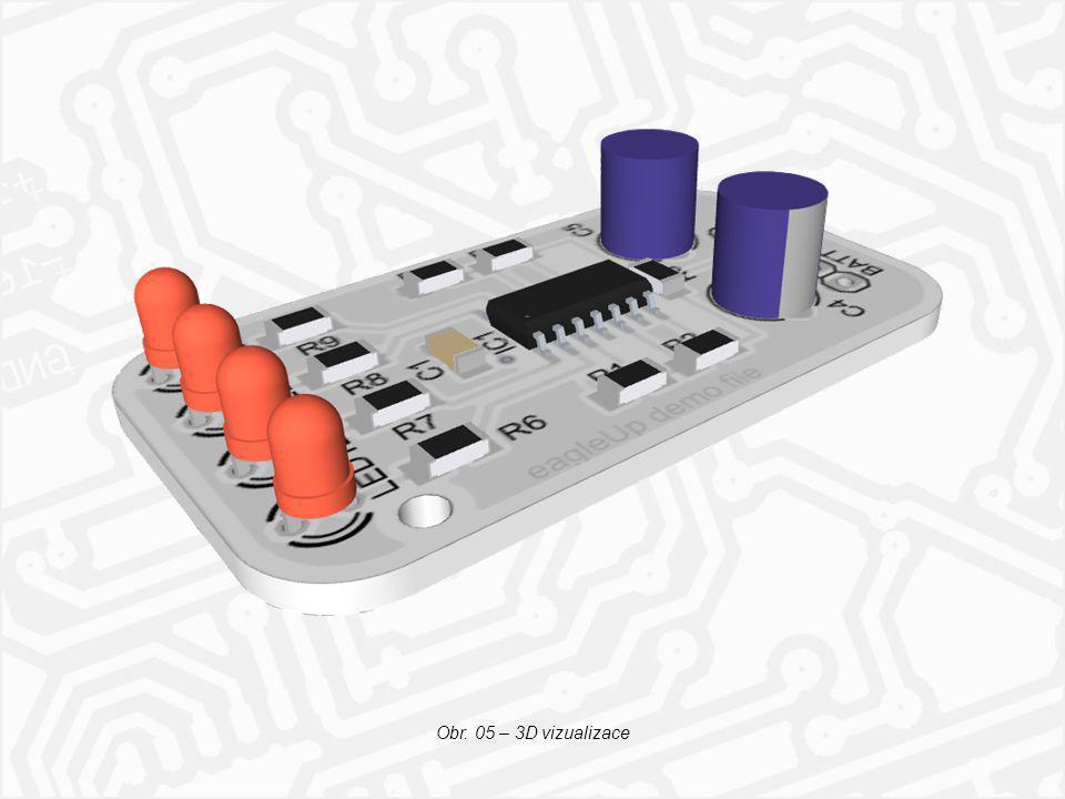 Obr. 01 - Vzhled kontrolního panelu