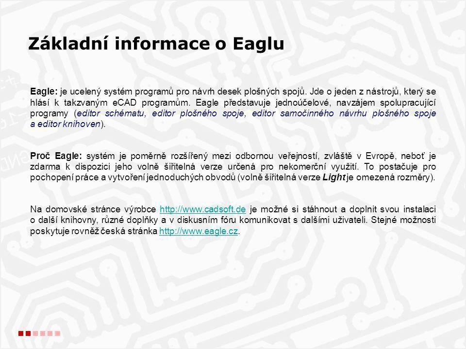 Základní informace o Eaglu
