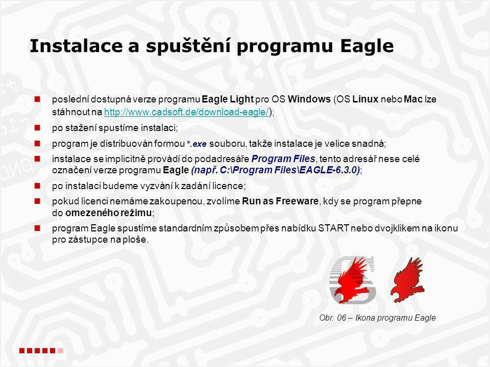 Obr. 06 – Ikona programu Eagle