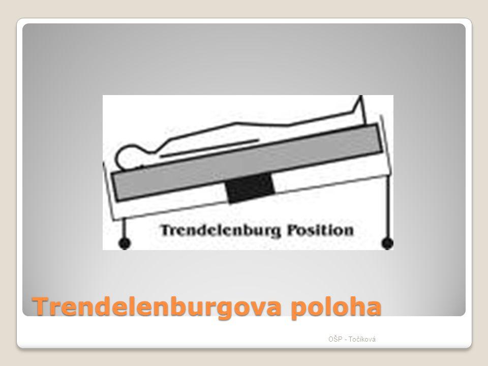 Trendelenburgova poloha