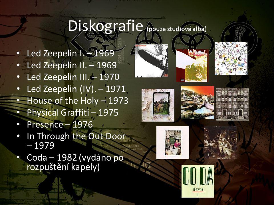 Diskografie (pouze studiová alba)