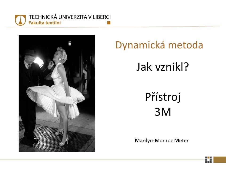 Dynamická metoda Jak vznikl Přístroj 3M Marilyn-Monroe Meter
