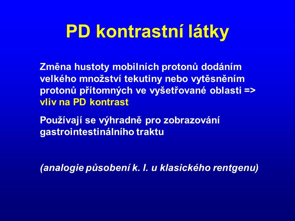 PD kontrastní látky