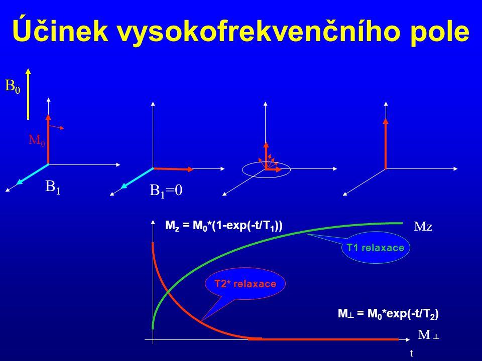 Účinek vysokofrekvenčního pole