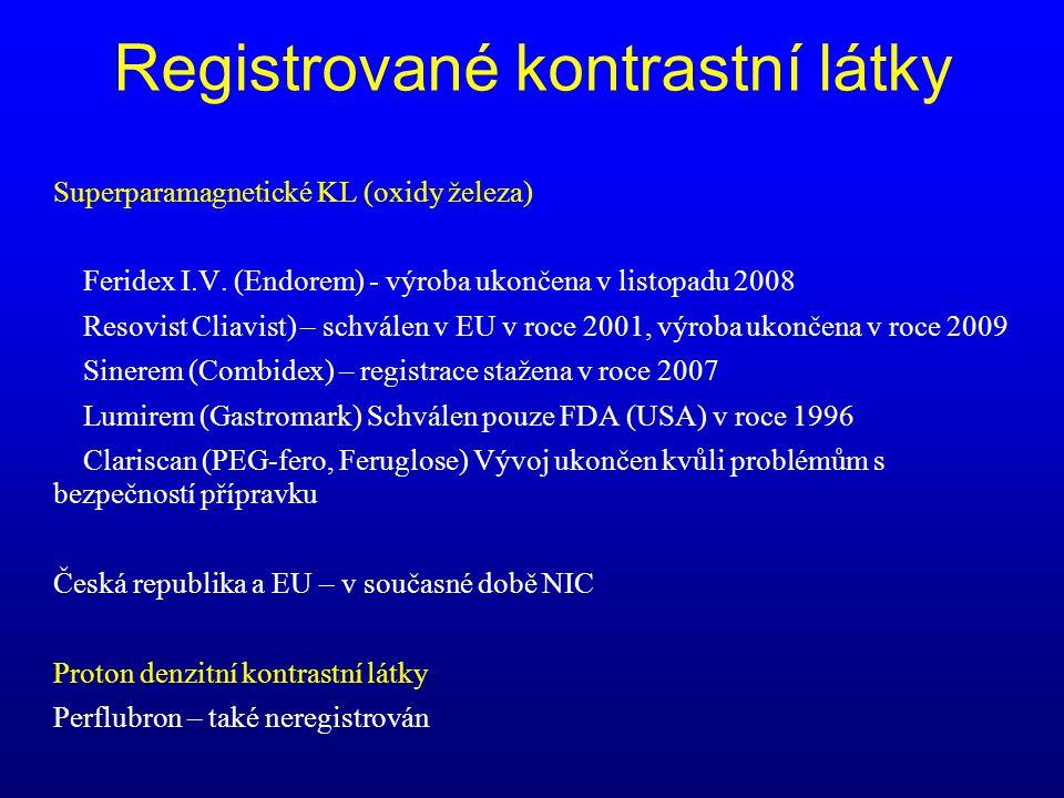 Registrované kontrastní látky