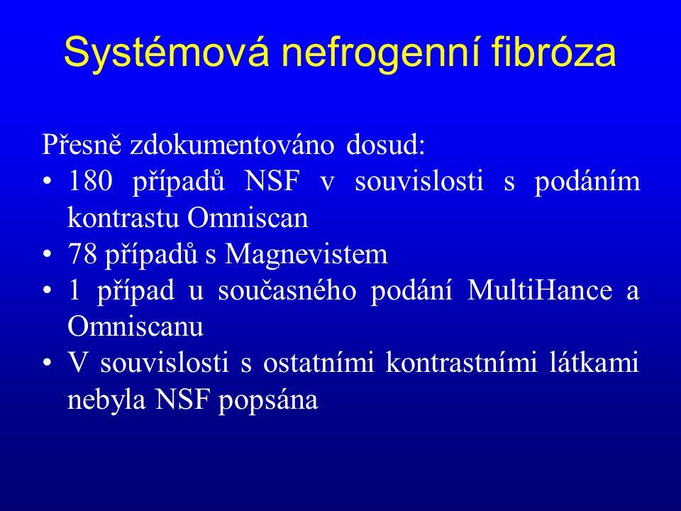 Systémová nefrogenní fibróza